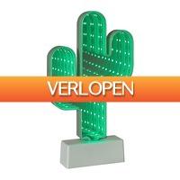 Xenos.nl: LED lamp cactus