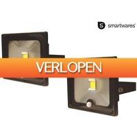 iBOOD DIY: 2 x Smartwares LED schijnwerper