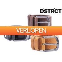iBOOD Sports & Fashion: 3 x DSTRCT leren riem