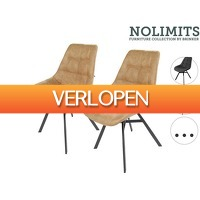 iBOOD.be: 2 x No Limits By Brinker Mats eetkamerstoel