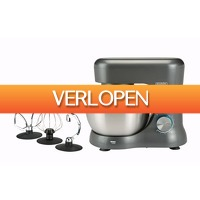 Blokker: Bourgini keukenmachine Compact Kitchen Chef Grey