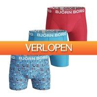 Plutosport offer: 3 x Bjorn Borg Midsummer boxers