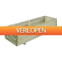 VidaXL.nl: vidaXL plantenbak rechthoekig 120 x 40 x 30 cm hout