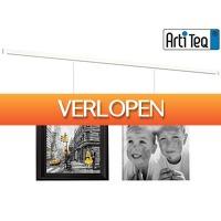 iBOOD DIY: 6 x Artiteq All-in-One Clickrail ophangsysteem