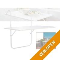 Balkon opklap tafel (balkontafel)