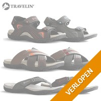 Travelin slippers en sandalen