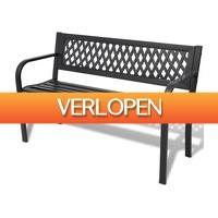 VidaXL.nl: vidaXL tuinbank 118 cm