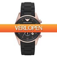 Watch2day.nl: Sportieve Emporio Armani Chronograph