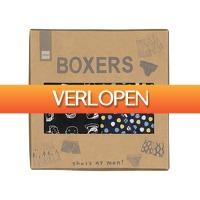HEMA.nl: 2-pak herenboxers - maat M