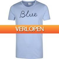 Suitableshop: Blue Industry T-shirt