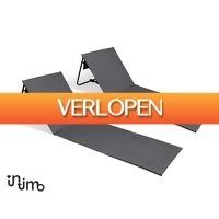 Voordeelvanger.nl 2: 2 x opvouwbare lig-/strandmatten met rugsteunen