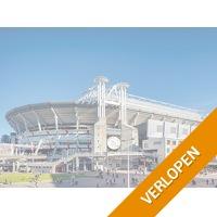 Ontdek de Johan Cruijff ArenA tijdens de stadiontour