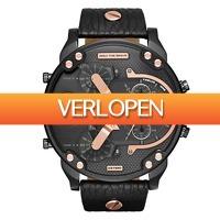Watch2day.nl: Diesel Mr. Daddy 2.0 Multifunctional DZ7350