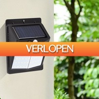 Dealbanana.com: Solar Powered Wall Light with Motion Detector