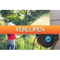 VakantieVeilingen: Veiling: tuinslang met muurbevestiging van Green Series