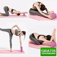 Bekijk de deal van Dealbanana.com: Kleurrijk yoga blok