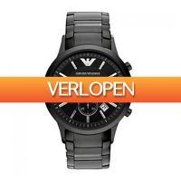 Watch2Day.nl 2: Emporio Armani Chronograph heren horloge