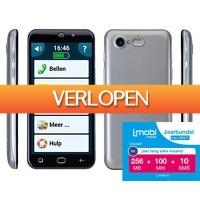 Telegraaf Aanbiedingen: Senioren smartphone PowerTel M9500