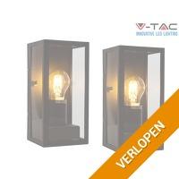 2 x V-Tac Isaac wandlamp