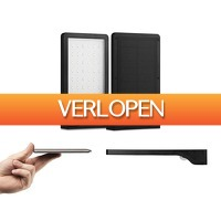 Voordeelvanger.nl: 2 x Ultra dunne solar buitenlamp