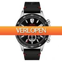 Watch2Day.nl 2: Scuderia Ferrari Pilota Chronograph herenhorloge