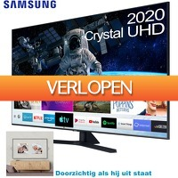 6deals.nl: Samsung Crystal UHD smart 4 K TV