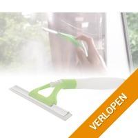 T-wipe raamwisser met sprayfunctie
