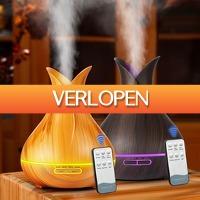 DealDigger.nl 2: 3-in-1 elektrische LED aroma luchtbevochtiger