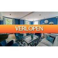 Groupon 1: Nabij het strand: deluxe tweepersoonskamer in The Fallon Alkmaar