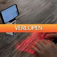 MegaGadgets: Virtual keyboard  laser toetsenbord