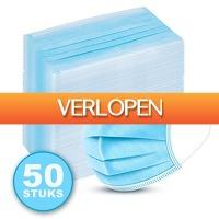 6deals.nl: 50 x mondkapjes