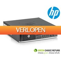 Telegraaf Aanbiedingen: Refurbished HP Elite 8300 desktop