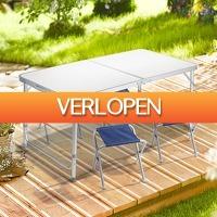 DealDigger.nl 2: Intimo opvouwbare lichtgewicht campingset