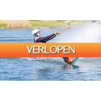 Groupon 1: 2 uur waterskin of wakeboarden