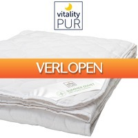 One Day Only: Vitality Pur zomerdekbed bamboe