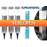 DealDonkey.com 4: 3 x Grundig Solar LED buitenlamp