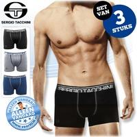 Bekijk de deal van voorHEM.nl: 3 x Sergio Tacchini boxershorts