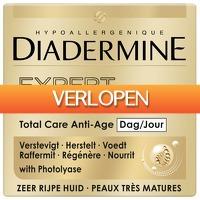 Plein.nl: 3 x Diadermine dagcreme Expert Fondamental 50 ml