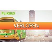 SocialDeal.nl: Stedentrip met FlixBus