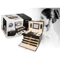Bekijk de deal van DealDonkey.com 2: Luxe sieradenbox met spiegel