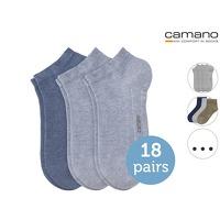 Bekijk de deal van iBOOD Sports & Fashion: 18 x Camano Sneaker of Quarter sokken