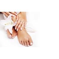 Bekijk de deal van Groupon 3: 1 of 2 cosmetische pedicures