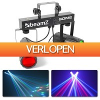 MaxiAxi.com: BeamZ 2-Some Lichtset 2x 57 RGBW LED's met afstandsbediening