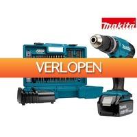 iBOOD.com: Makita DHP453FX12 accuschroef- en klopboormachine
