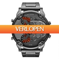 Watch2day.nl: Diesel Mr. Daddy XXXL Chronograph