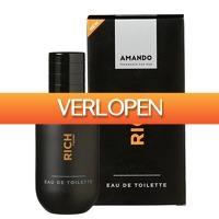 Plein.nl: 6 x Amando EDT Rich 50 ml