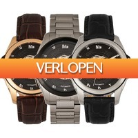 Watch2Day.nl 2: Reign Henley Skeleton Automatics REIRN45 herenhorloge