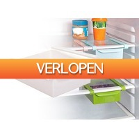 DealDonkey.com 2: 2 x koelkast organizer