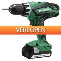 Gereedschapcentrum.nl: HiKOKI DS18DJL WCZ 18V Li-Ion accu boor-/schroefmachine set (2x 1,5Ah) in koffer