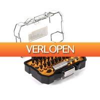 Gereedschapcentrum.nl: DeWalt DT70523T/TS 32-delige Impact Torsion Schroefbitset in cassette